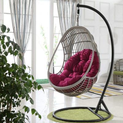 Sedia sospesa indoor con supporto metallico