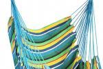 Poltrona sospesa modello amaca colorata