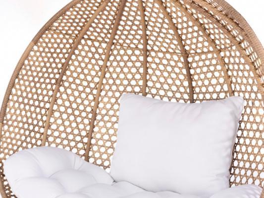 Poltrone sospesa indoor Vahina dettaglio struttura in resina