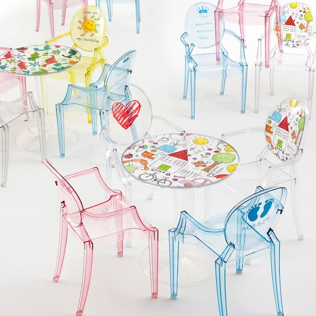 Camerette bambini design - Kartell - Lou Lou Ghost