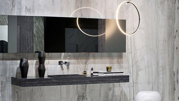 Bagno moderno grigio: quali nuance, texture e materiali scegliere?