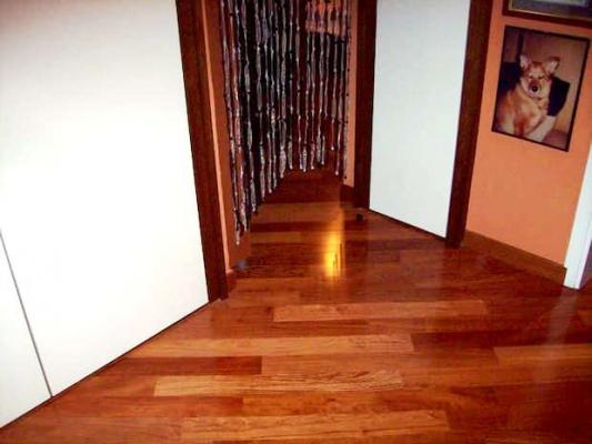 Progetto casa: parquet in diagonale - Pegaso Parquet