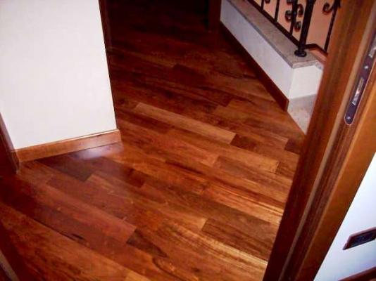 Progetto casa: posa diagonale Pegaso Parquet