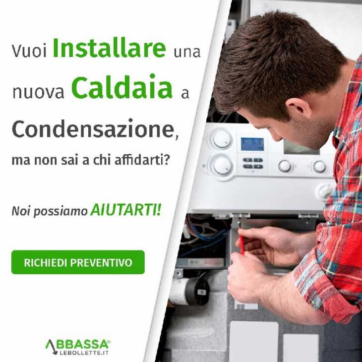 Installazione caldaia a condensazione Abbassalebollette.it