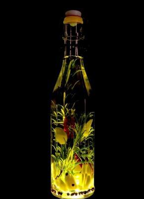 Olio aromatizzato all'origano