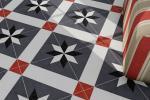 Piastrelle adesive applicazione pavimento TILESKIN
