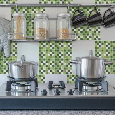 Applicazione cucina piastrella adesiva mosaico di Dekoidea.com
