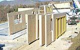 Pannelli platform frame prima del montaggio, by L.A. Cost.