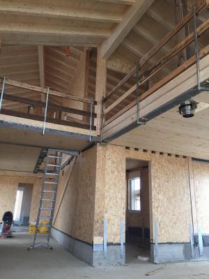 Casa in costruzione con il sistema platform frame, by Sistem Costruzioni