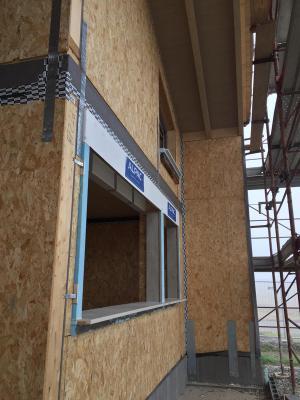Villa in costruzione con il sistema platform frame, by Sistem Costruzioni