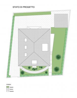 Planimetria esterna di progetto