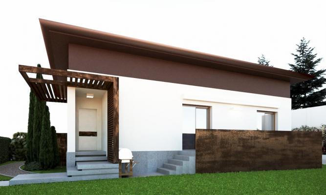 Balaustra nuovo terrazzo in metallo effetto corten