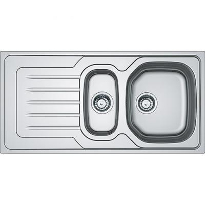 Lavello cucina Onda Line OLX 651 in inox satinato di Franke