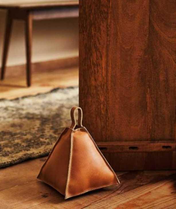 Fermaporta in pelle di Zara Home