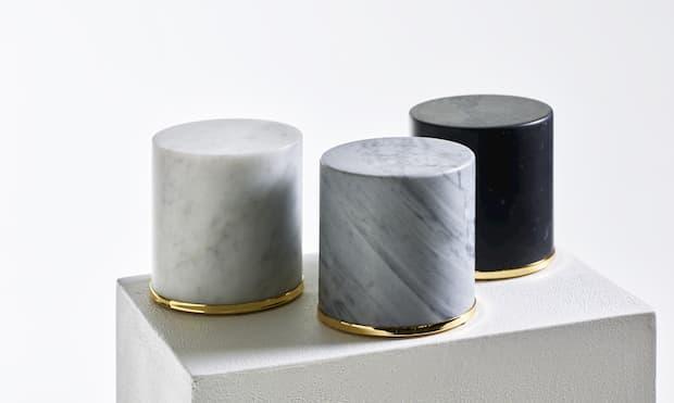 Fermaporta in marmo di Opinion Ciatti su Madeindesign.it