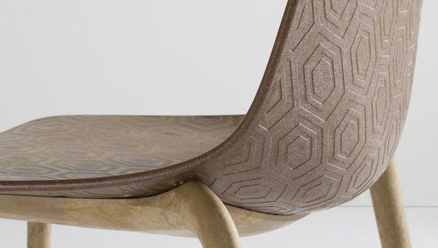 Alhambra Eco, sedia design eco-friendly - Foto by Gaber