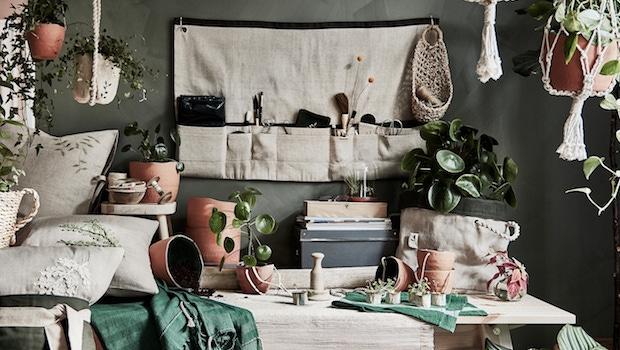 Accessori della collezione Ikea Botanisk - Foto by Ikea