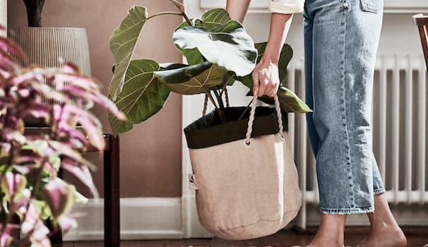 Portavasi con manici Ikea Botanisk - Foto by Ikea