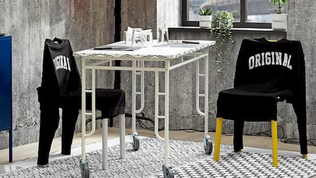 Fodera per sedia collezione Sammankoppla - Foto by Ikea