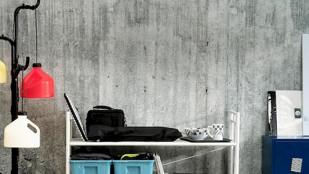 Tavolo e appendiabiti Sammankoppla - Foto by Ikea