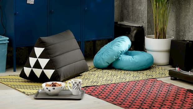 Cuscini e tappeti Sammankoppla - Foto by Ikea