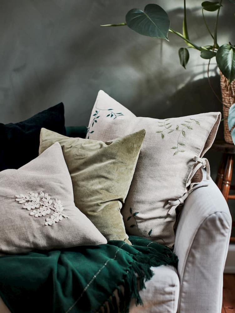 Cuscini collezione Ikea Botanisk - Foto by Ikea