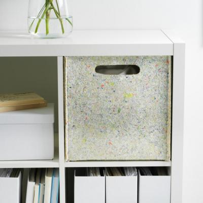 Scatole pieghevoli in feltro Ikea Tillverka - Foto by Ikea
