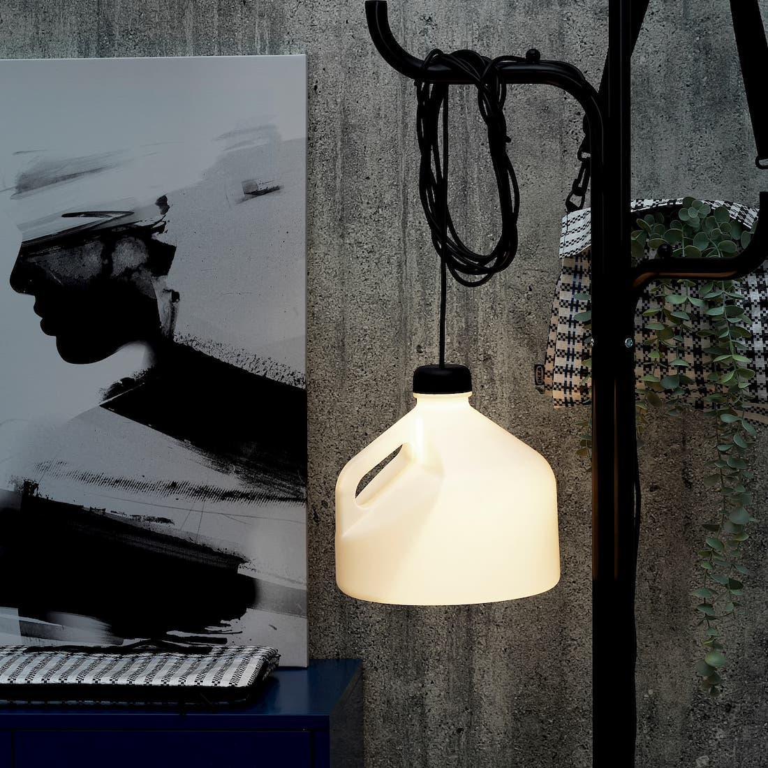 Lampada LED bianca Ikea Sammankoppla - Foto by Ikea