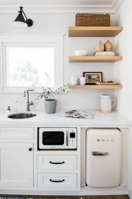 Mini frigo, da livingston-interiors.com