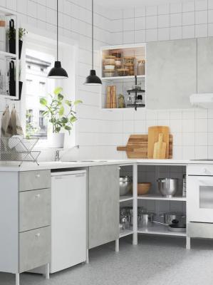 Cucina di piccole dimensioni, IKEA, linea Enhet