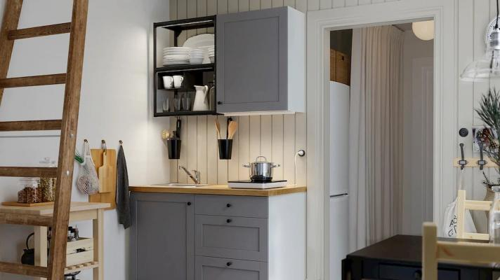 Cucine piccole, IKEA, linea Enhet