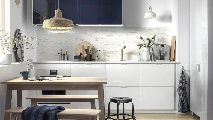 Cucina piccola, IKEA, linea Metod