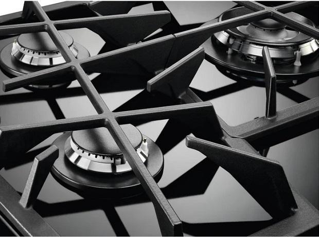 Piano cottura da 90 serie Touch Sure di Electrolux