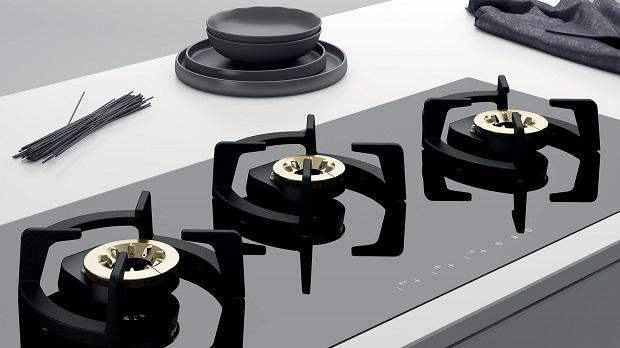 Piano cottura nero Smalvic da 100 cm, serie Next