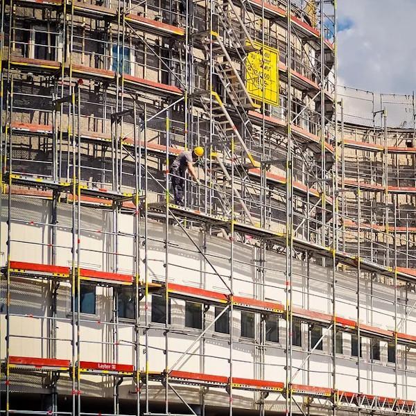 Lavori di ristrutturazione esterna