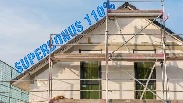 Lavori Superbonus 110% coibentazione delle pareti
