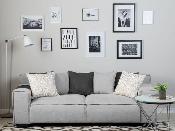 Disposizione cuscini divano - Credits Pinterest