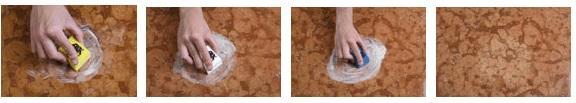 kit MARBLE RESTORER fase 1 di pulizia del marmo