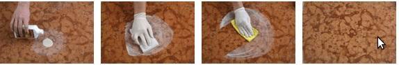 kit MARBLE RESTORER fase 2 di pulizia del marmo