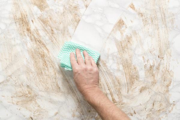 Come pulire le superfici in marmo