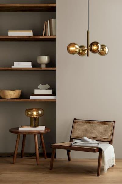 L'oro è un colore accento per il Japandi - Credits: Pinterest