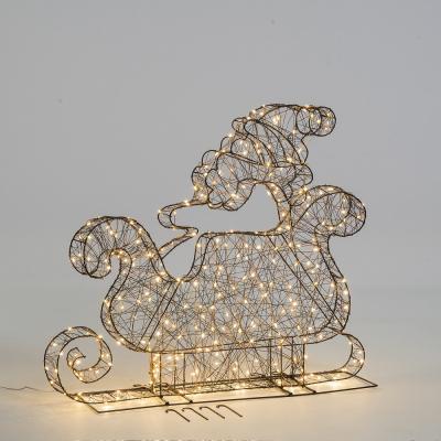 Lumi in Aria, renna di luci microled per il Natale, 104 euro circa