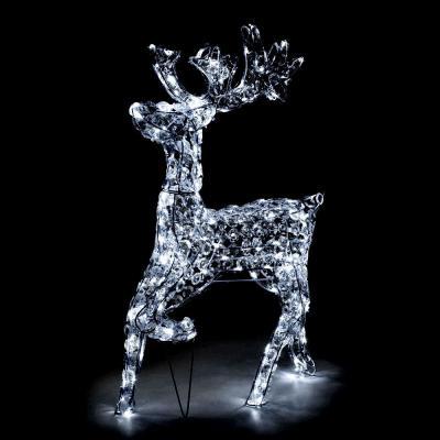 Lucidinatale.com, renna di luci natalizie in acrilico per interni