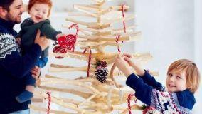 Idee per realizzare in casa un albero di Natale minimal