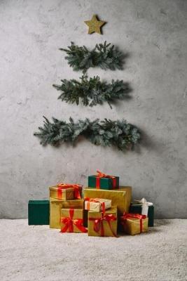 Albero di Natale minimal fai da te