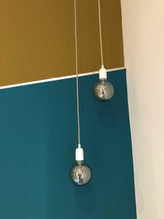 Dettaglio luci - progetto bilocale arch. Felicetti