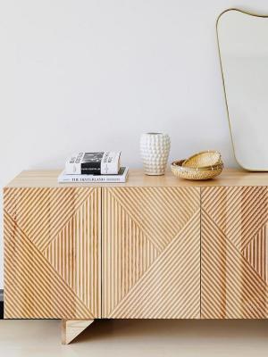 Credenza in legno chiaro di mango Louis - Foto by Westwing