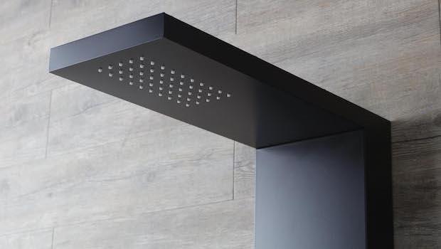 Colonna doccia Easy Shower Total Color Black - Foto by Grandform