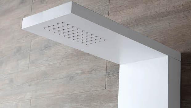 Colonna doccia Easy Shower Total Color White - Foto by Grandform