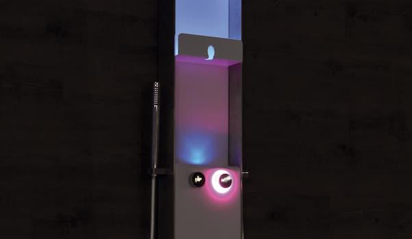 Colonna doccia Techno E-Shower crioterapia - Foto by Grandform